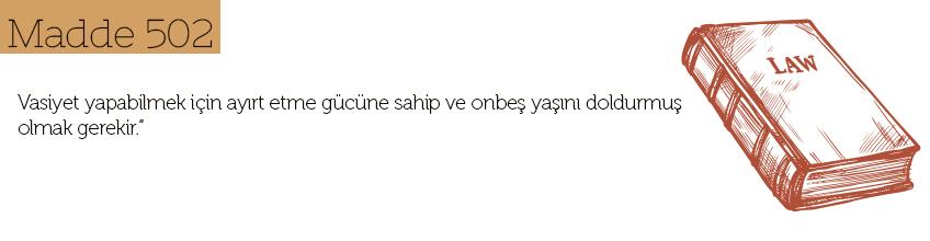 Türk Medeni Kanun Madde 502 nedir